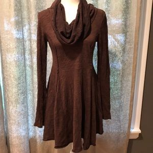 Free People Beach Cowl Neck Dress! Size Medium!